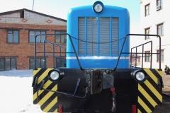 Тепловоз ТГК-2 1990 г.в. после капитального ремонта в Первой Локомотивной Компании lococom (вид спереди)