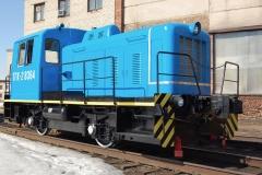 Тепловоз ТГК-2 1990 г.в. после капитального ремонта в Первой Локомотивной Компании lococom