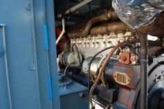 Дизель тепловоза ТГ-2 после ремонта
