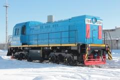 Тепловоз ТГМ-4Б 0734
