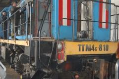 Ремонт тепловоза ТГМ-4Б (Первая Локомотивная Компания) 7